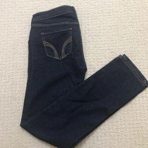 Hollister Laguna Skinny dark jeans: size 5